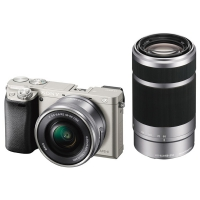Sony Alpha A6000 Kit 16-50/55-210 Silver