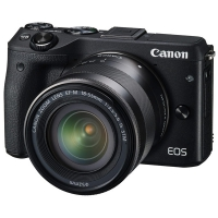 Canon EOS M3 Kit 18-55 IS Black