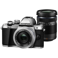 Olympus OM-D E-M10 Mark II Kit Silver + 40-150 mm Black